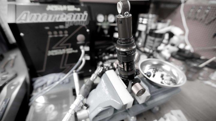 service fourche, suspension amortisseur, vélo électrique VTT